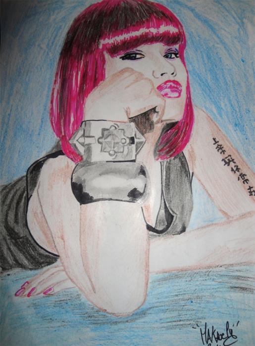 Nicki Minaj by nikkaz97128